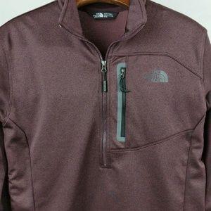 North Face Pull Over Jacket Mens M 1/2 Zip Fleece